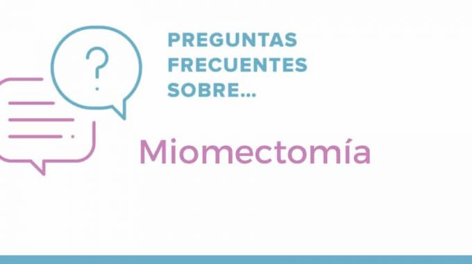 Frequently Asked Questions About Myomectomy. FAQ Logo